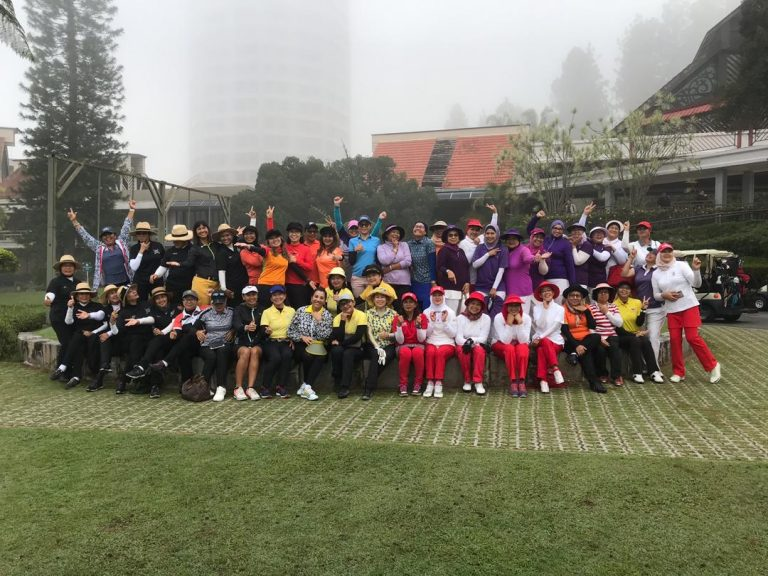 LADIES GET TOGETHER INTER TEAM GOLF COMPETITION