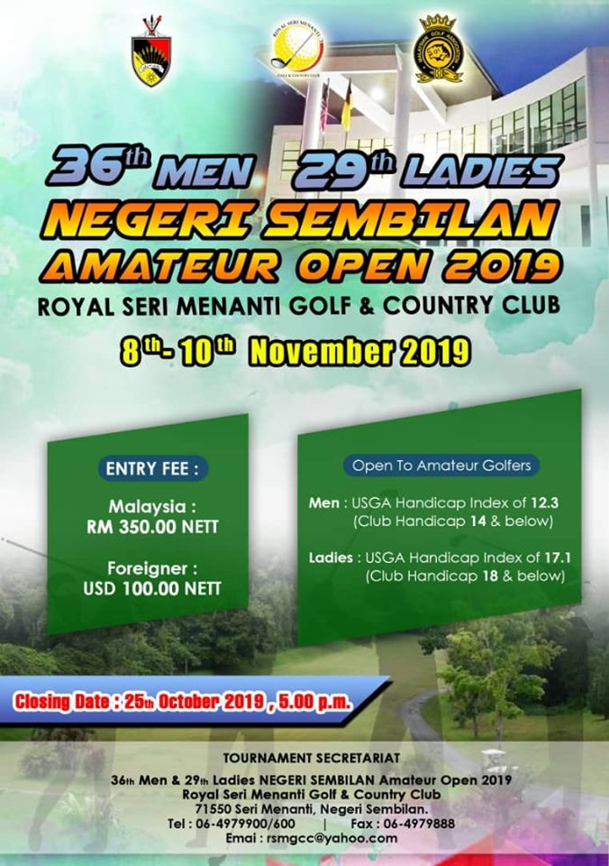 Negeri Sembilan Amateur Open 2019